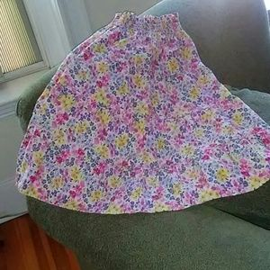 Cute, twirly 100% cotton Gymboree skirt